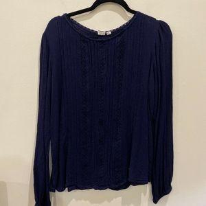 GAP blue blouse